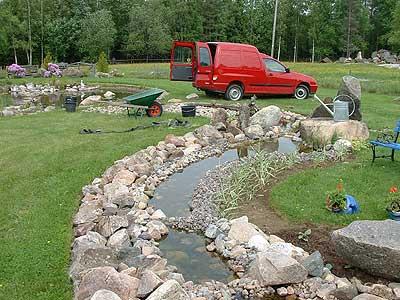 Trädgård trädgård damm : TRÄDGÅRDSDAMM BILDER